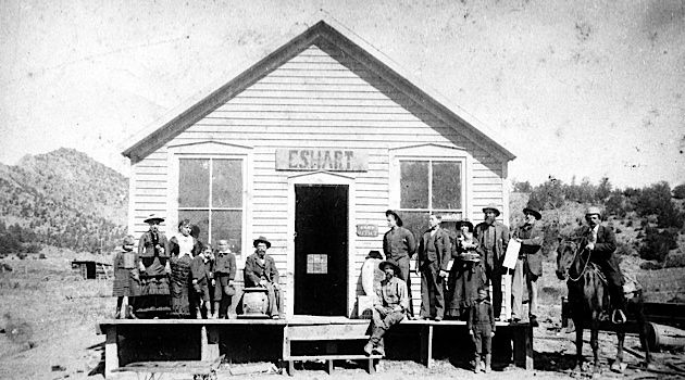 Little Store on the Prairie: Emmanuel Saltiel and E.S. Hart ran a general store in Cotopaxi.