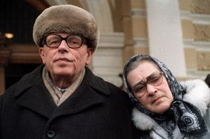 Alone Together: Andrei Sakharov and Yelena Bonner in March 1987, a couple months after being released from internal exile in Gorky.