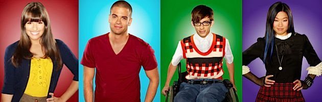 Who Is the Wise Child? ?Glee? actors Lea Michele, Mark Salling, Kevin McHale and Jenna Ushkowitz.