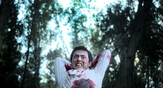 Bloody Mess:Ofer (Henry David) plays the older brother who goes off to get help.
