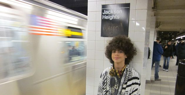 Too Young?: Skenazy?s new reality show about overprotective parents stemmed from a 2008 column in which she wrote about letting her then 9-year-old son, Izzy (above), ride the subway alone.