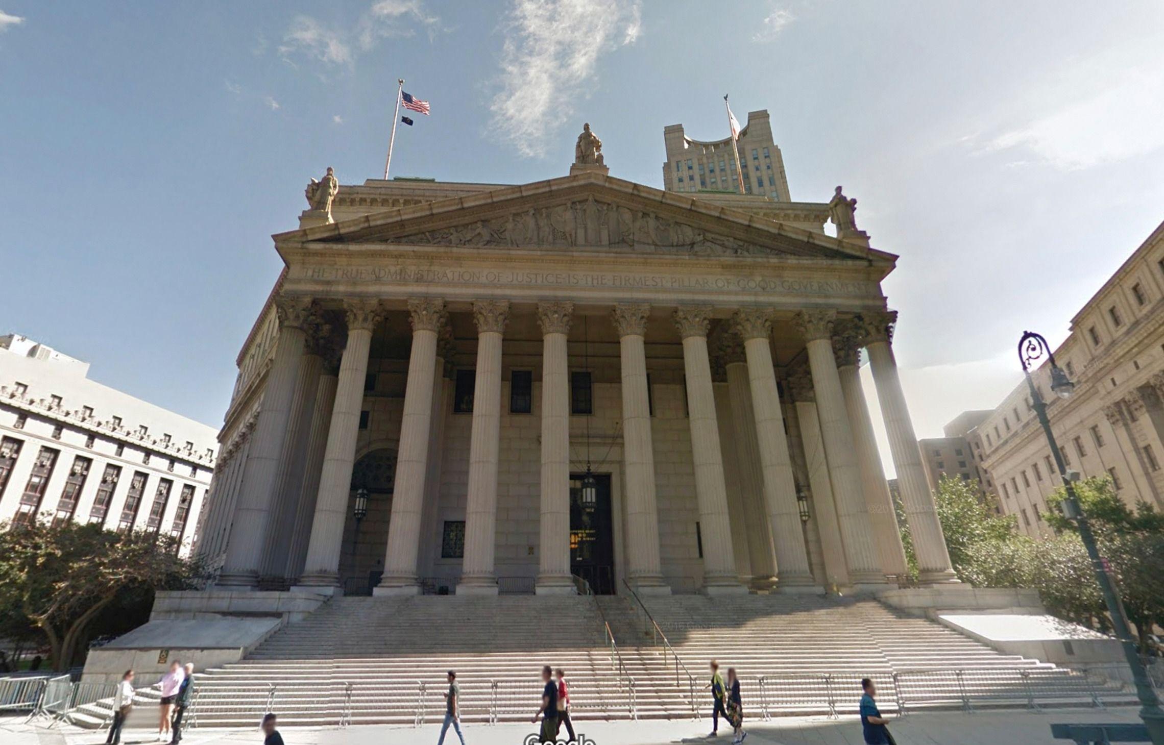 Manhattan Supreme Court.
