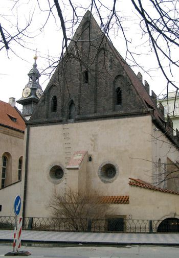 A Perennial Question: The Alt-Neu Synagogue in Prague has always been a shul but not always ?Old-New,? though stories differ on its original name.