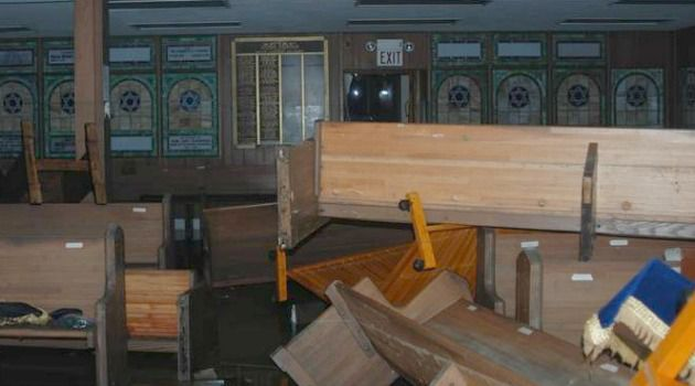 Help Needed: Synagogues affected by Hurricane Sandy are hoping to get federal aid.