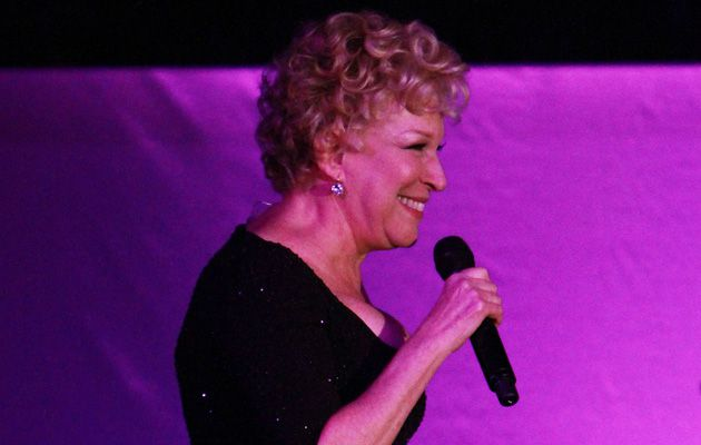 The Incomparable Ms. Midler: Bette Midler performs at the National Museum of American Jewish History gala.