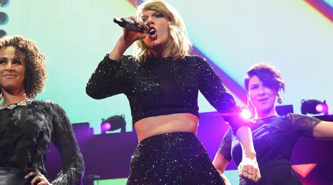 Swift Changes Taylor Swift did not perform at the New Republic's centennial gala.