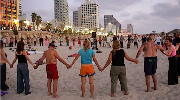 Togetherness: Attacks on Tel Aviv have not broken the city, rather they have brought its citizens together.