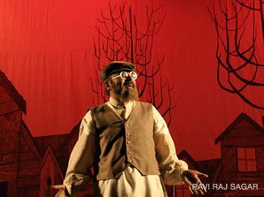 Rakesh the Milkman: Indian actor Rakesh Gupta, a 48-year-old civil servant, plays the iconic role of Tevye in a Hindi production of 'Fiddler on the Roof.'