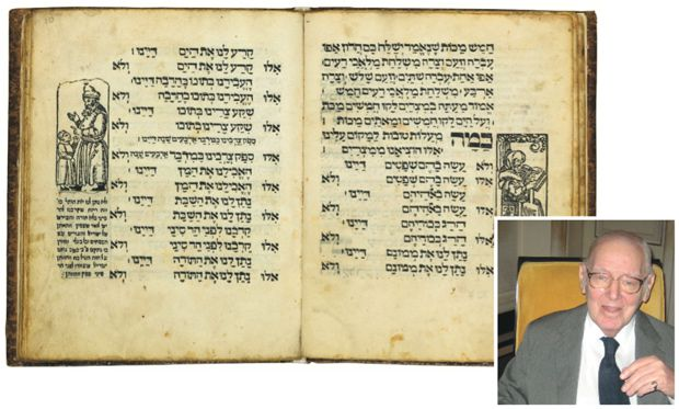 Buy the Book: Collector Jack Lunzer and a 1556 Haggadah from Prague. The volume is one of two surviving copies.