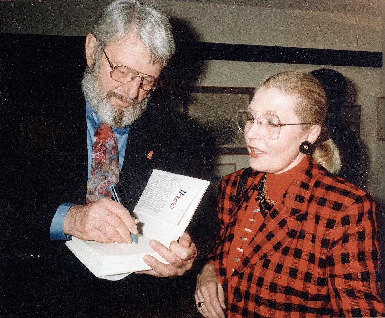 Theo Bikel and Masha Leon in 1994.