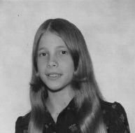 The author as a teenager.