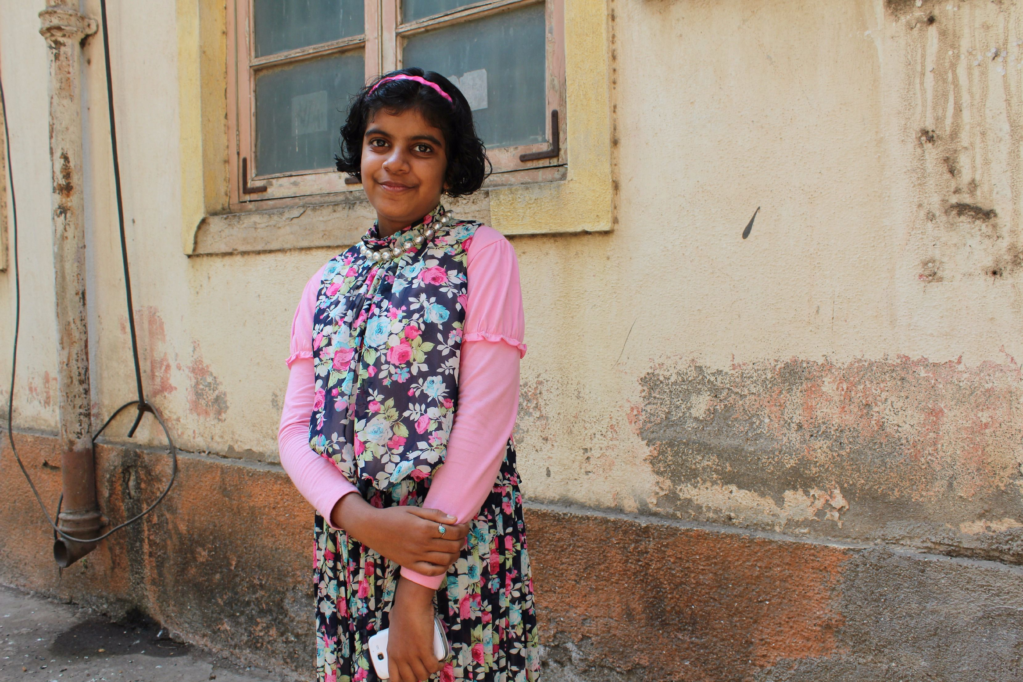 Vanishing Culture? Tiferet Galsurkar, 11, was the lone youth at the JCC's kirtan workshop.