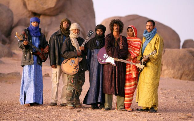 Festival in the Desert: Modern desert superstars Tinariwen will play in Mali in January.