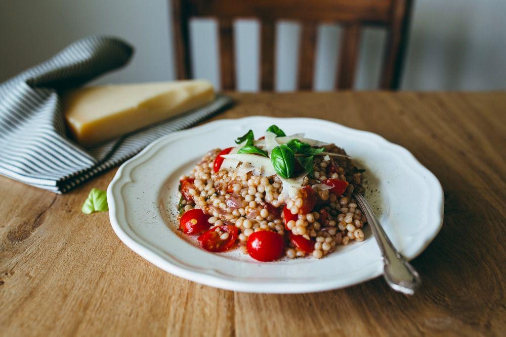 Tomato-basil couscous