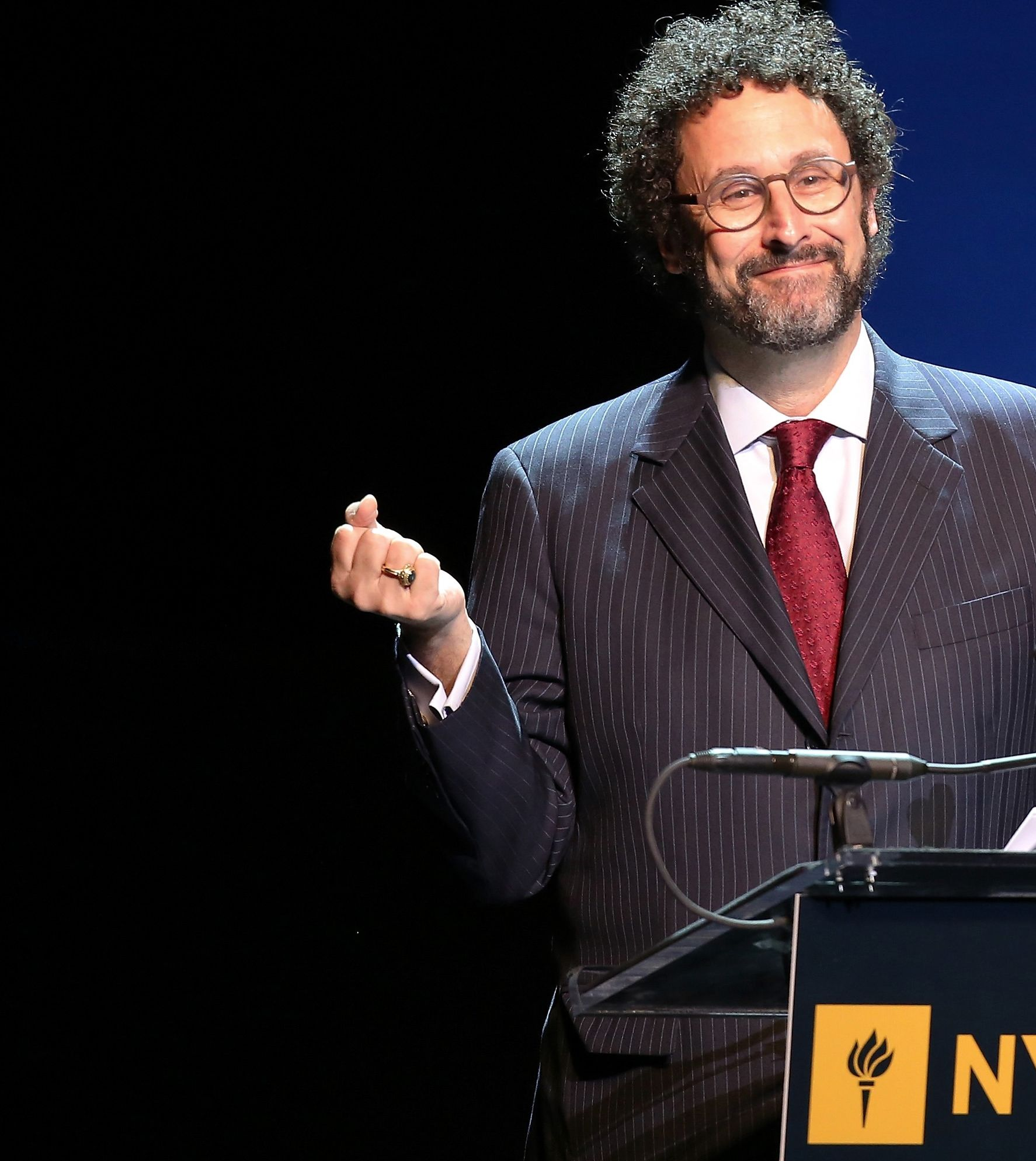 Tony Kushner to write play about 'borderline psychotic' Trump