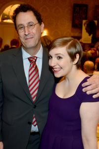 Tony Kushner and Lena Dunham