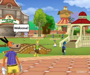 POWERPLAY: Toontown is an online multi-player game that Josie adores.