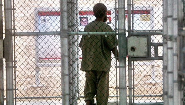 Logical trap: Both critics and supporters of the harsh interrogation of U.S. detainees, such as this one in Guantanamo, have cited Israel?s torture policy.