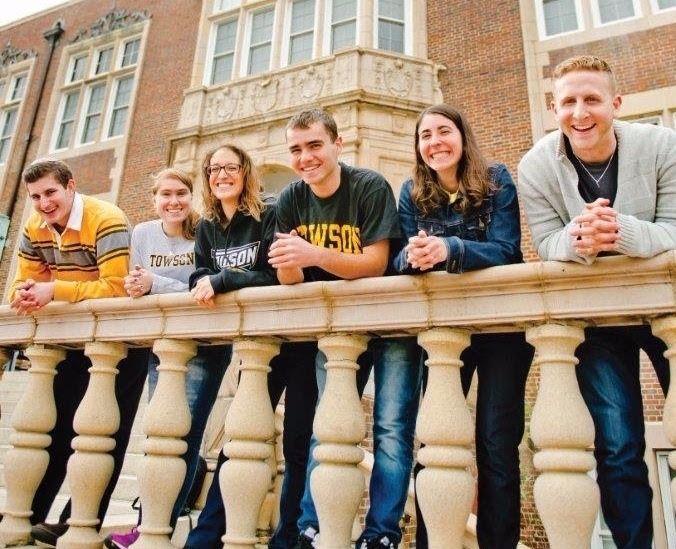 Jewish students at Towson University.