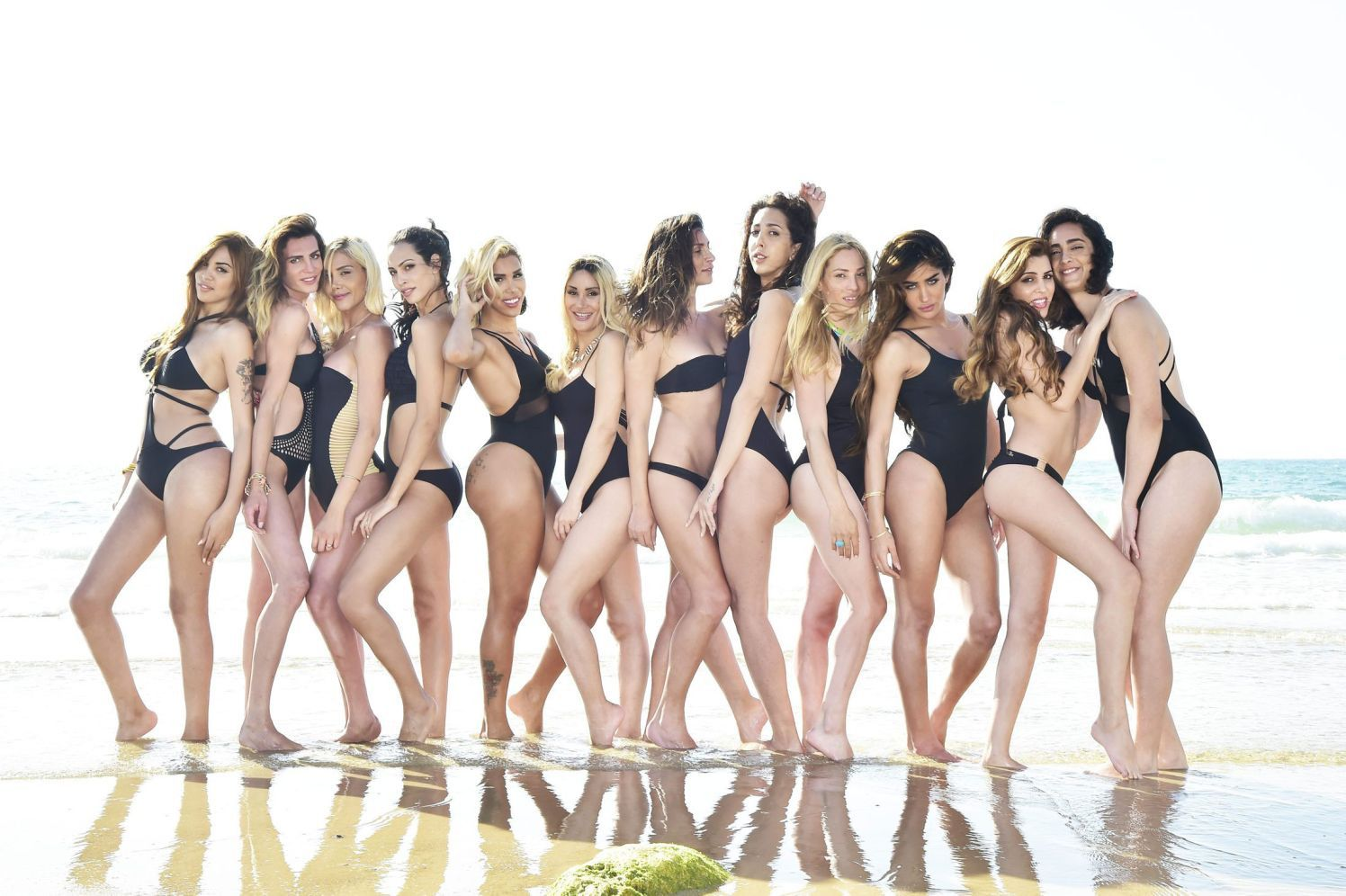 Contestants in the first Israeli pageant for transgender women, to be held on May 27.