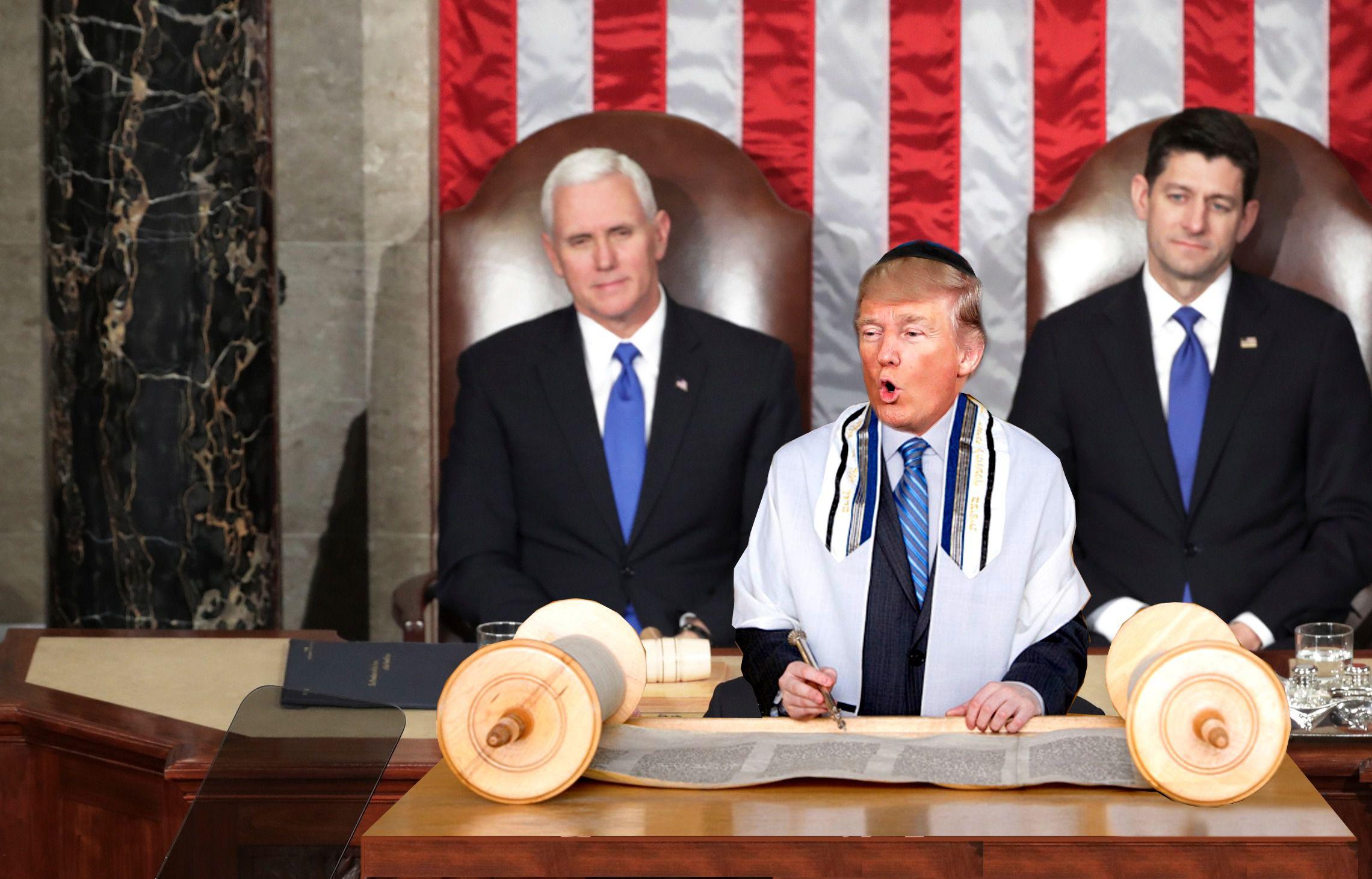 Was Donald Trump's Speech His Bar Mitzvah Moment? – The Forward