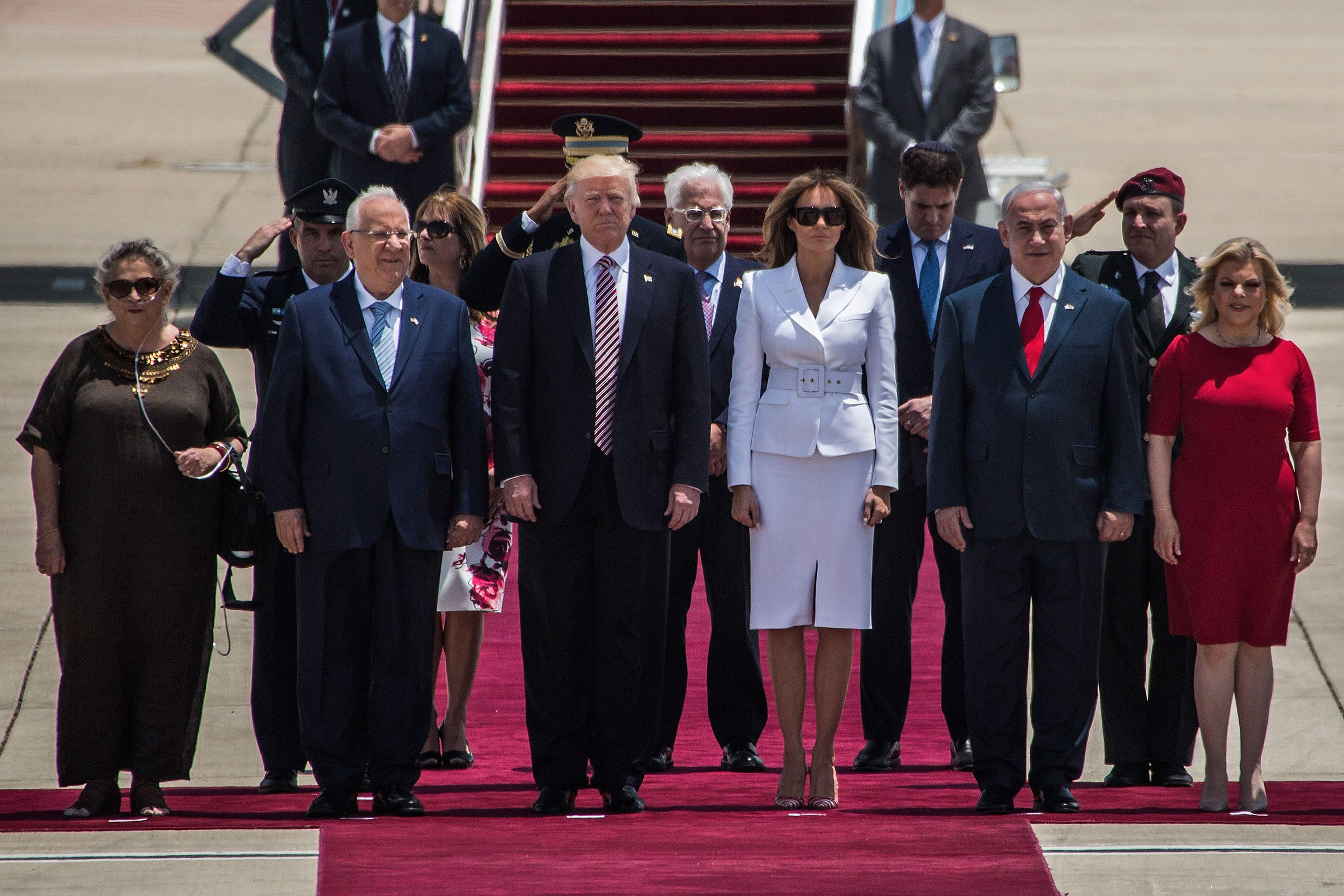 Donald Trump in Israel, May 22, 2017