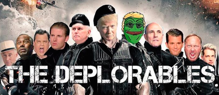 Image result for the Trump deplorables