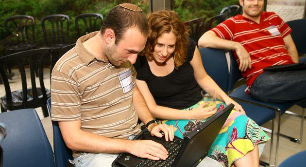 Blog It!: Participants blog at last year?s International Jewish Blogger?s Convention in Jerusalem.