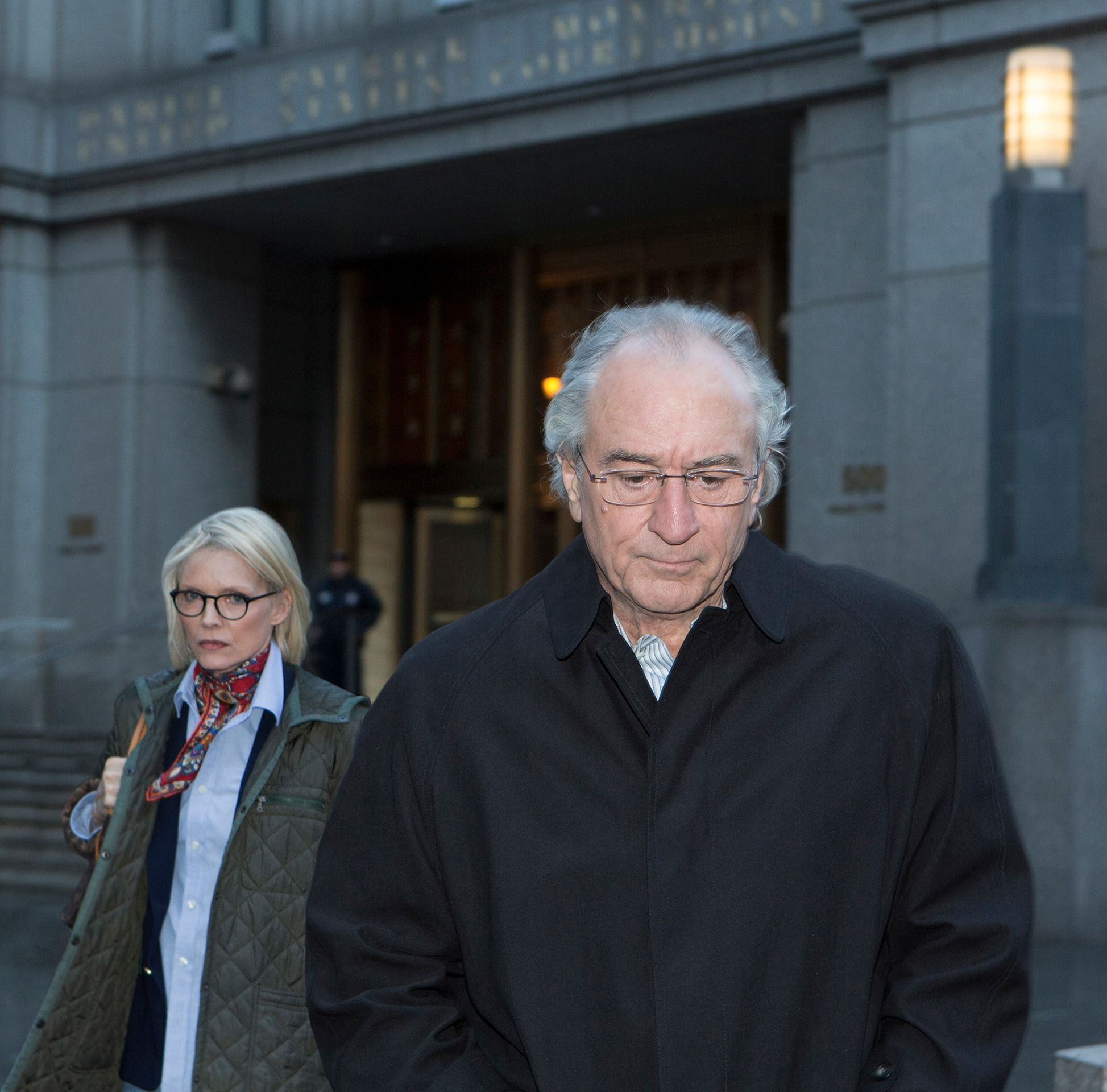 Robert DeNiro as Bernie Madoff