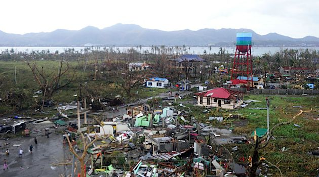 Deadly Waves: Typhoon Haivan hit the Philippines killing as many as 10,000 people. IsraAid, a disaster relief group, will join the rescue effort this week.