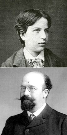 Unduly Neglected: Marcel (Mayer André) Schwob (top as an adolescent) and Bernard Lazare (bottom) are only now being recognized for their true worth.