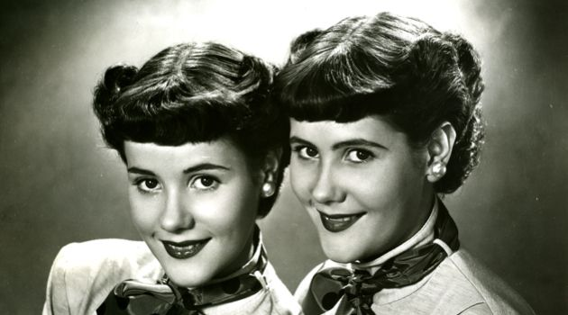 Mystery Girls: Little is known about these twins, who appeared in the Forverts? pages in the 1950s. It?s likely that they were a singing duo trying to capitalize on the success of the Barry Sisters (also known as the Bagelman Sisters). Recognize them? Contact features@forward.com.
