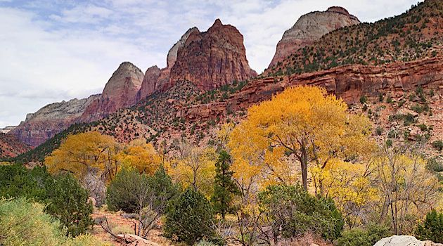 The Other Zion: Zion National Park in Utah.