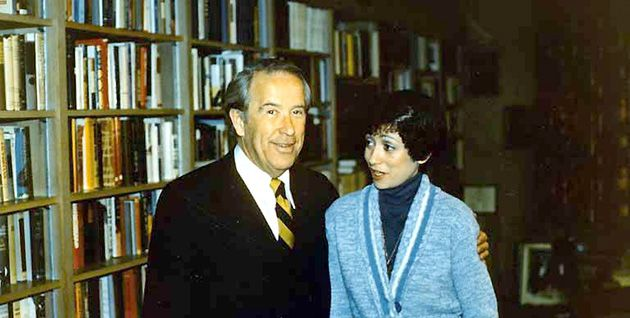 Appealing to Congress: Aviva Klein Gendin, with the late Sen. Henry M. Jackson, in 1974. She came seeking help securing the release of her husband, Lev, a Jewish dissident.