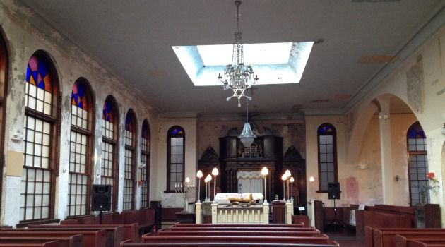 It Takes a Vilna: Boston?s Vilna Shul, designed in 1919, features an unusual number of skylights.