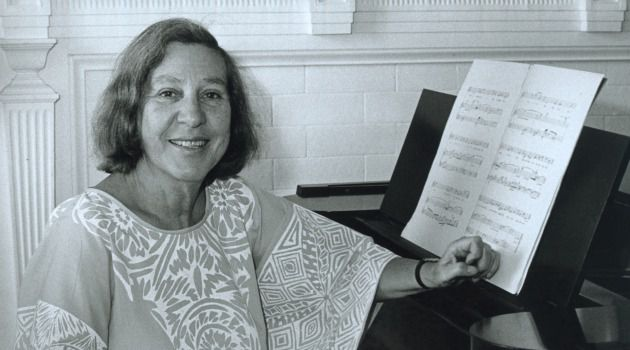 Closer to Fine: Aside from being a noted composer, Vivian Fine was also a beloved professor at Bennington College.