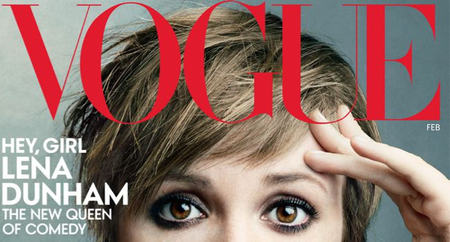 Progress: Photoshopped or not, the fact that Dunham is on the cover means Vogue is changing.