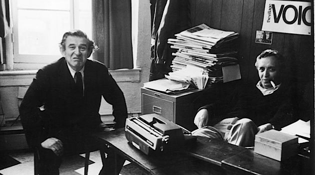 Voice of a Generation: Norman Mailer and Voice co-founder Daniel Wolf work in the paper?s Greenwich Village offices in 1964.