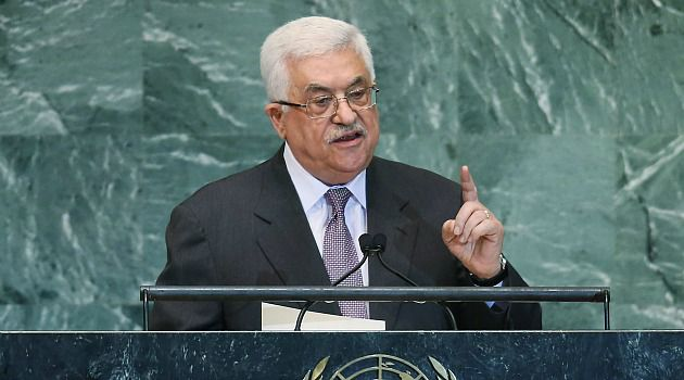 New Status: Palestinian President Mahmoud Abbas asks the U.N. to upgrade its status to non-member statehood.