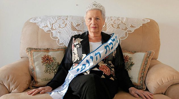 Chava Hershkovitz, winner of last year?s Miss Holocaust Survivor pageant, sees reason for hope.