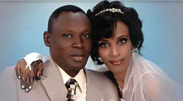 Meriam Ibrahim, right, has been sentenced to death for converting to Christianity from Islam.
