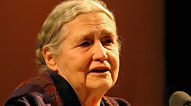 Nobel Artist: Doris Lessing, Nobel Prize-winning author of such novels as ?The Golden Notebook? was married to a German lawyer of Jewish heritage.