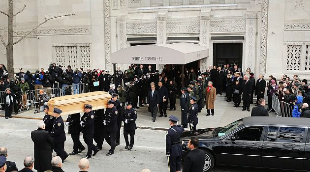 Stately Send-Off : The funeral for Ed Koch at Temple Emanu-El felt like a most Episcopalian kind of Jewish funeral. He probably would?ve reveled in the contradictions on display.