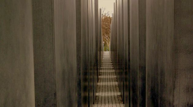 Strangers in Germany: The Jewish Memorial in Berlin as seen in 2012.
