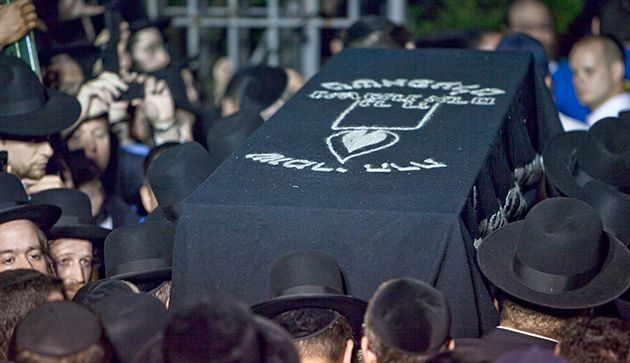 Little Leiby: Heartbroken Hasidic Jews mourn the death of Leiby Kletzky in Boro Park, Brooklyn.