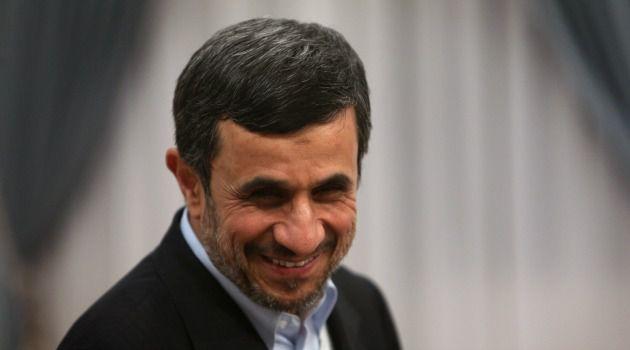 Rocket Man: Mahmoud Ahmadinejad says he wants to be first Iranian human in space.