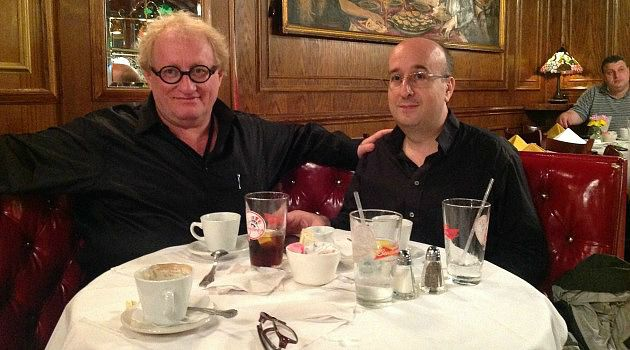 Eight Eyes To Watch You: Tuvia Tenenbom and Adam Langer talk about Tenenbom?s next book project while seated in a booth in Jim Brady?s restaurant in lower Manhattan.