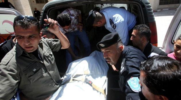 Rising Confrontation: Palestinian authorities tend to teenager shot by Israeli troops near Hebron in West Bank.
