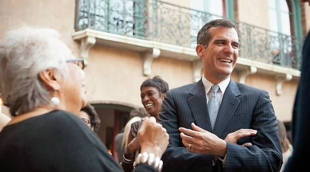 Tight Race: Eric Garcetti is holding onto a tight lead over Wendy Greuel in the Los Angeles mayoral race.