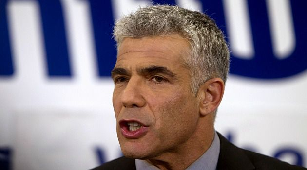 Fresh Face: Yair Lapid, the man of the moment in Israel, is still widely unknown in Washington policy circles.